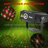 Wholesale Party Lights Decoration For Dance Mini Laser Projector Lighting Red Green Stage Projector Laser Christmas Dj laser party light