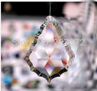 Wholesale New Arrived MM K9 Optical Crystal clear Color Crystal Prism crystal Pendant Suncatcher