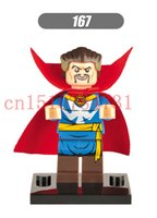 Wholesale Single sale Doctor Strange Building Blocks Super Heroes Assemble Single Minifigures Bricks Mini Figures Toys