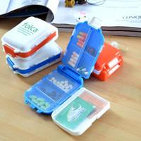 Wholesale 1 PC Folding Vitamin Medicine Drug Pill Box Makeup Storage Case Container ZH065 order lt no tracking