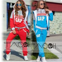 Wholesale Emoji New Promotion Street Piece Set Gaps Sport Suit Women Printed Sweatshirt Cotton Tracksuit For Plus Size Tops pants