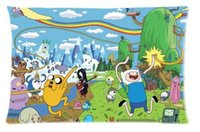 adventure time case - Custom FINN AND JAKE ADVENTURE TIME Custom Rectangl Pillow Cases Cotton High Quality Standard Size40X60cm Twin Sides