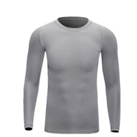 Wholesale Mens Dry cycling Sports Shirts Long Sleeve T Shirt High Elastic Training Suit Football Basketball Tights Compression Quick Vests CYC_71A