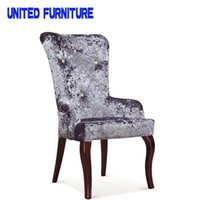 american furniture sofa - American Pastoral metal dining chair high quality oak sofa coffee chair wood living room chairs multi purpose chair furniture