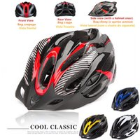 bicycle helmet materials - 2015 HOT A Free road bike bicycle cycling helmet EPS PC material Ultralight Mountain bike Helmet Air Vents SIZE cm