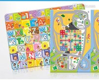 baby plat - kid s plat mat puzzle baby play gym non slip mat office lunch break mate flight chessboard puzzle letter