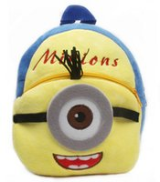 Wholesale Promotions Senmi Lovely Cartoon Animal Minions Children s Backpack Kindergarten Bag Toddler Kid s bag
