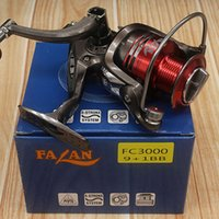 Wholesale High quality Spining Reels BB Ball Bearings Saltwater Fly Fishing Reel Right left hand interchangeable Reel FC6000