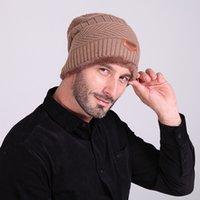 Wholesale 2016 Brand Beanies Knit Men s Winter Hat Caps Skullies Bonnet Winter Hats For Men Women Beanie Outdoor Ski Sports Warm Baggy Cap
