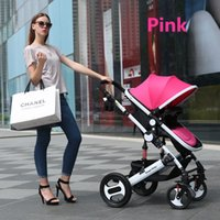 baby stroller travel systems - 3 States Adjustment Canopy Infant Prams Types Accessories Point Harness Seat Baby Travelling System Children By On Sale