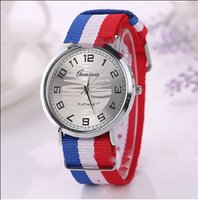 battery crust - 2015 Fashionable Wristwatch Pretty Canvas Watch With Alloy Crust Best Sellers In High Quality Unisex