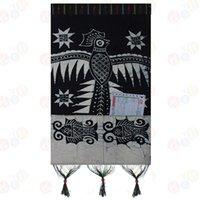 batik wall hangings - Waxprinting home decoration painting envelope letter holder batik wall hanging cm