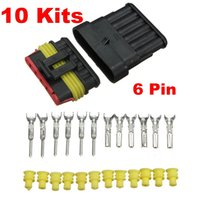 auto grounding kit - Audew Brand New Kits Car Pin Way Sealed Waterproof Electrical Wire Auto Connector Plug Set order lt no track