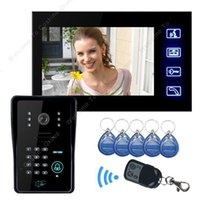 Wholesale quot Color Door Phone Intercom Doorbell Camera Viewer Access Control Night Vision