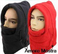 Wholesale HOT winter hat for men warm fleece hat women protected face mask ski gorros hat CS outdoor riding sport snowboard cap colors