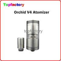 Cheap Orchid V4 Atomizer with 510 Thread Big Capacity Airflow Control Rebuidable Atomizer VS Kayfun Nano Taifun GT RDA Atomizer Free Shipment