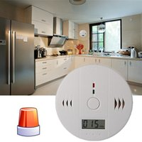 Wholesale New Home Safety CO Carbon Monoxide Poisoning Smoke Gas Sensor Warning Alarm Detector Kitchen High Quality