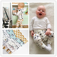 Wholesale Panda baby Leggings boys girls trousers harem Tights Pants clothes winter clothing leggings toddler capris brand striped wearing pants A