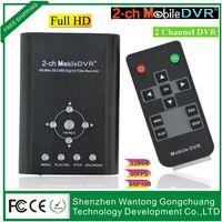 achat en gros de frame rate-2-CH mobile dvr pour la famille Survellance Frame rate: 5 FPS 15 FPS 30 FP Facultatif