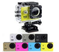 Wholesale 2016 SJ4000 freestyle D001 inch LCD P Full HD HDMI action camera meters waterproof DV camera sports helmet SJcam DVR00