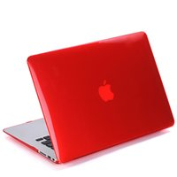 Wholesale Snap on Hard Shell Laptop Cases Full Body Protector Case Cover Crystal Clear Full Body Macbook Retina quot quot for Apple B