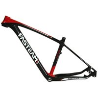 Wholesale Fasteam Bikes Brand New Full Carbon Glossy Mountain Bike MTB ER Bicycle Frame Carbon MTB Frame size