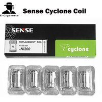 Cheap Multicolor Sense Cyclone Coil Best PVC as picture Uwell crown Coil