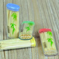 bamboo toothpick - 12pcs Portable Lighter Style Toothpicks Environmental Bamboo Dentiscalprum Home Office Accessories os189