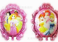 Wholesale NEW ARRIVAL inch princess foil balloon helium balloons mylar balloon party ballons