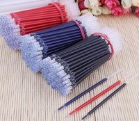 Wholesale Manufacturers Gel Ink pen refills MM Needle tube head refill Bullet refill