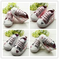 shoes dropship - Silver pink Love Style Soft Baby Shoes Cute Female Baby Princess Shoes size Choose Dropship ping dandys