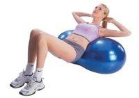 Wholesale Explosion Proof Yoga Ball Rehabilitation Capsule Ball Peanut Fitness Ball Exercise Training Equipment