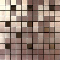 aluminium wall tiles - Aluminium mosaic tiles wall cladding tiles home decoration art deco mosaico