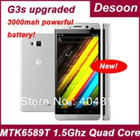 "Magazzino russo JIAYU G3S MTK6589T .5ghz quad core Android Phone 4.2 4.5 ""IP G3 Jiayu smart phone / vicky"