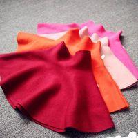 Wholesale 2015 New Children Clothes Girl Skirts High Waist Cotton Large Bottom Umbrella Skirt Y