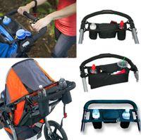 Wholesale Universal Baby Pram Buggy Organiser Pushchair Stroller Storage Cup Holder Bag GA H2010190