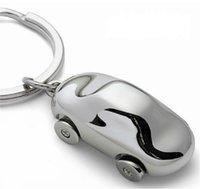 Wholesale Keychains Creative German car keychain car key chain Philippi four car company gifts