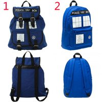Wholesale Dr Who Tardis Backpack Doctor Who Tardis bag Doctor Who bag backpack Tardis Knapsack