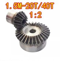 Wholesale Freeshipping ratio M T T Degree precision gear drive bevel gear M teeth with teeth set