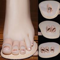 Wholesale Holesale Toe orthotic thumb Overlap corrector Hallux Valgus Orthopedic Metatarsal Crooke memory foam insoles styles
