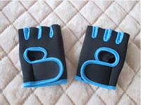 basketball training equipment - Fitness Gym Gloves Half Finger Gloves Men Basketball Training Exercise Equipment Dumbbell Slip Sports Gloves