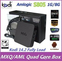 Quad Core android tv - Original Quad Core MXQ Smart TV Box Android Amlogic S805 Kodi Fully Loaded Media Player Update MX TV Box