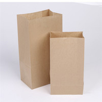 Wholesale Kraft Brown Paper Bags Gift Party Wedding Favour Tea Bag Decorate Print Stamp size for you