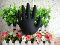 latex gloves free powder - Black Latex Powder Free Disposable Tattoos Piercing Industrial Gloves Size Large gloves Box