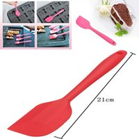 Wholesale 2Pcs Kitchen Silicone Cake Spatula Mixing Scraper Brush Butter Utensil Tool