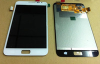 Wholesale 5PCS For Galaxy Note N7000 LCD Display Touch Screen Digitizer Black White For Samsung Galaxy Note I9220 N7000