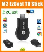 M2 EZcast Stick de TV DLNA Airplay WiFi pantalla del receptor Dongle Multi-Pantalla interactiva usb androide smart tv stick HDMI 1080P fuego OTH033
