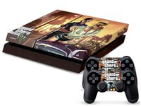 Cheap GTA 5 Collage 0140 DECAL SKIN PROTECTIVE STICKER for SONY PS4 CONSOLE CONTROLL