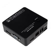 Wholesale 4CH Mini NVR IP Camera Recorder Surveillance P P P HD Cloud P2P ONVIF HDMI VGA E SATA HDD Connection USB Interface S405