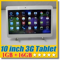 Wholesale 10 inch G Phablet Phone Call Tablet PC GB GB Dual SIM Android Dual Camera quot MTK6572 Bluetooth